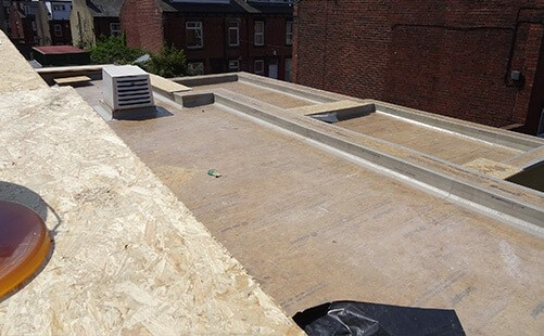 Commercial Flat Roof in Leeds
