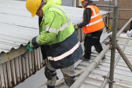 Potters Ballotini Roof Repair 3