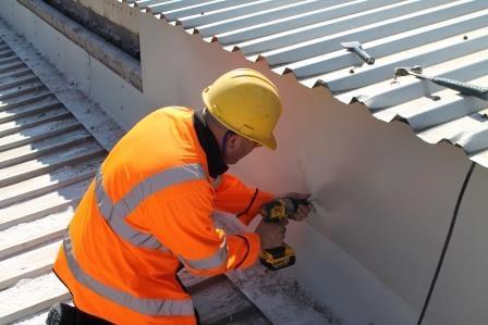 Potters Ballotini Roof Repair 7