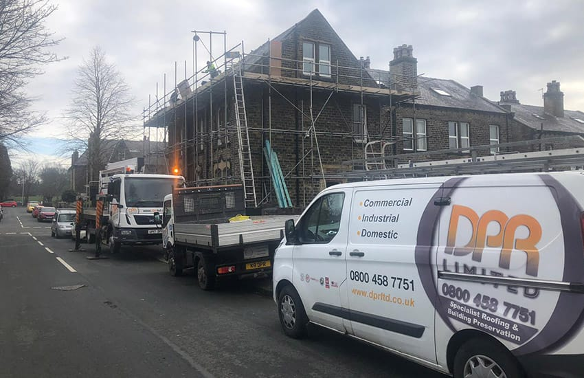 Does My Roof Replacement Need Scaffolding?